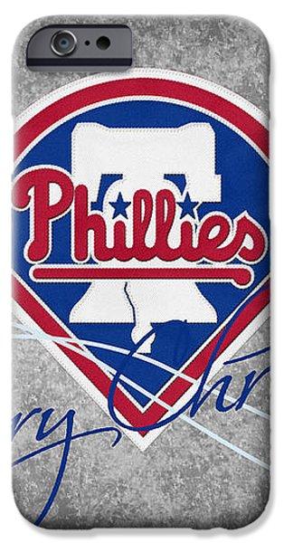 PHILADELPHIA PHILLIES iPhone Case by Joe Hamilton