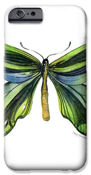 6 Queen Alexandra Butterfly iPhone Case by Amy Kirkpatrick