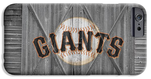 Baseball Field iPhone Cases - San Francisco Giants iPhone Case by Joe Hamilton
