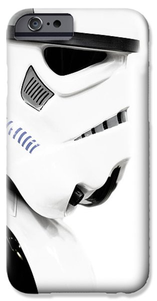 Storm Mixed Media iPhone Cases - Star wars stormtrooper iPhone Case by Toppart Sweden