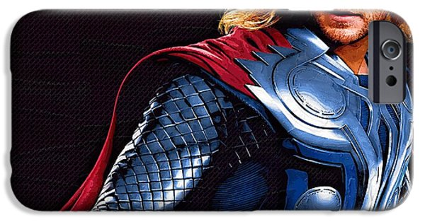 Fury iPhone Cases - The Avengers Movie iPhone Case by Victor Gladkiy