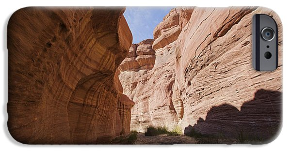 Jordan iPhone Cases - Wadi Hassa iPhone Case by Eyal Bartov
