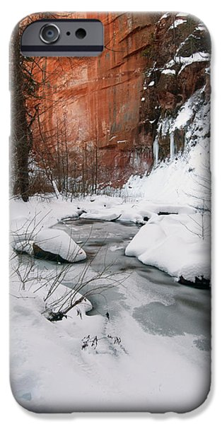 West Fork iPhone Cases - West Fork iPhone Case by Tam Ryan