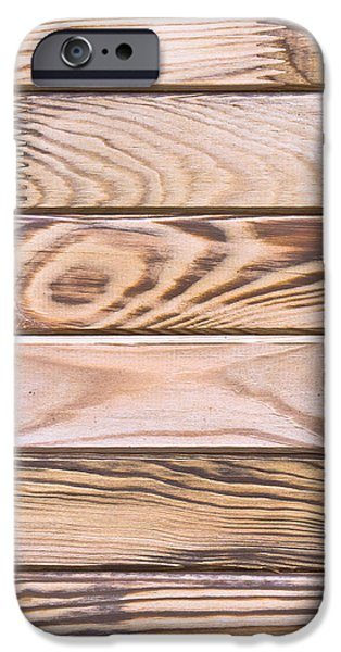 Flooring iPhone Cases - Wooden panels iPhone Case by Tom Gowanlock