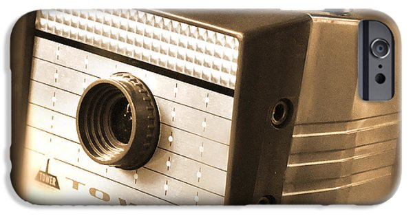 """""""square """" Digital iPhone Cases - 620 Camera iPhone Case by Mike McGlothlen"""