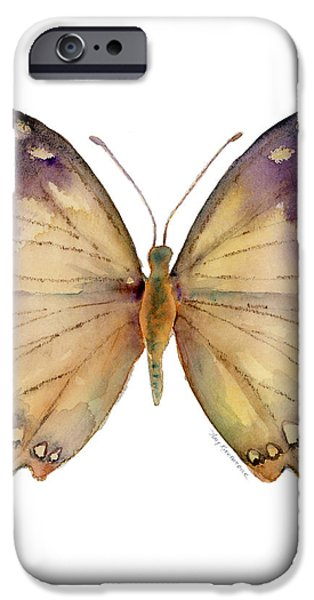 63 Great Nawab Butterfly iPhone Case by Amy Kirkpatrick