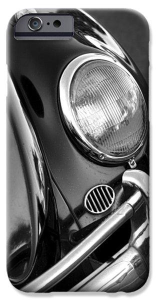 Beatles iPhone Cases - 65 VW Beetle iPhone Case by Gordon Dean II