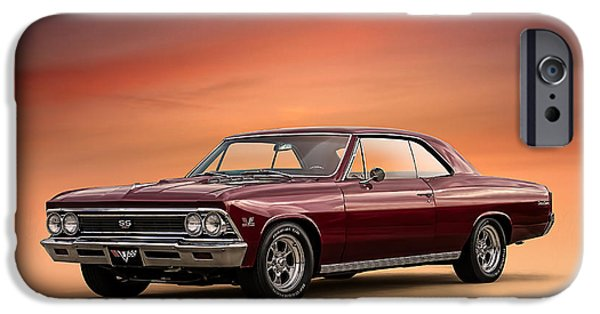 Malibu iPhone Cases - 66 Chevelle iPhone Case by Douglas Pittman