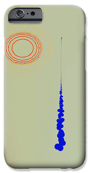 Abstract Digital Drawings iPhone Cases - 6626f iPhone Case by Mickey Harris