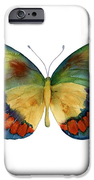 67 Bagoe Butterfly iPhone Case by Amy Kirkpatrick