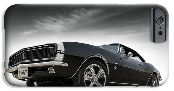 Chevrolet iPhone Cases - 67 Camaro RS iPhone Case by Douglas Pittman