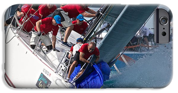 Racing iPhone Cases - Key West Race Week iPhone Case by Steven Lapkin