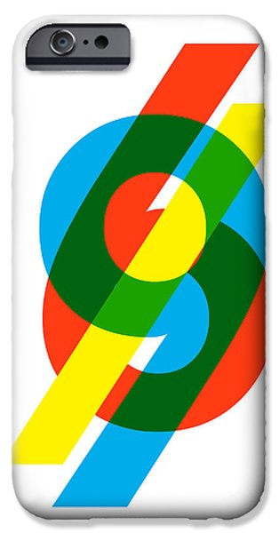 Color iPhone Cases - 69 iPhone Case by Budi Kwan