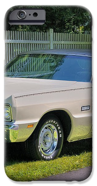 '69 Plymouth Sport Fury iPhone Case by Thomas Schoeller
