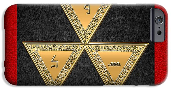 Serpent iPhone Cases - 6th Degree Mason - Intimate Secretary Masonic Jewel  iPhone Case by Serge Averbukh
