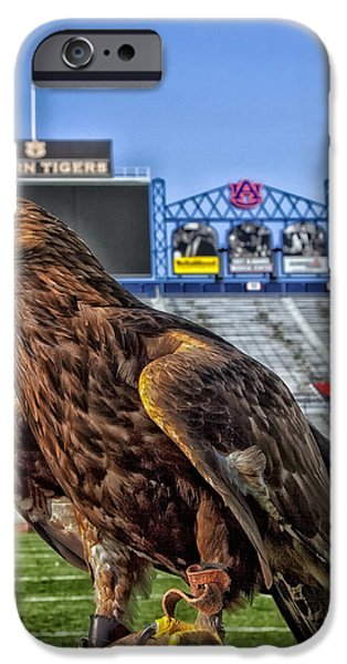Sec iPhone Cases - Auburn War Eagle iPhone Case by Mountain Dreams