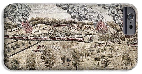 Patriots iPhone Cases - Battle Of Lexington, 1775 iPhone Case by Granger