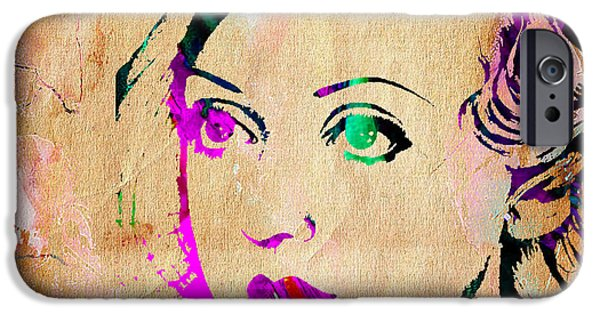 Stars iPhone Cases - Bette Davis Collection. iPhone Case by Marvin Blaine