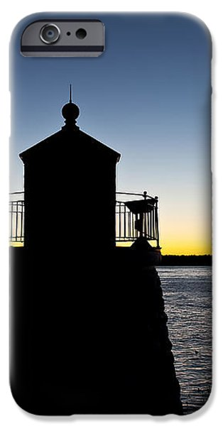 Castle Hill Lighthouse iPhone Case by John Greim