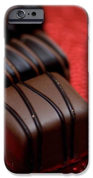 Chocolate Candies iPhone Case by Amy Cicconi