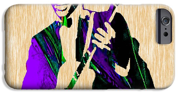 Retro iPhone Cases - Chuck Berry Collection iPhone Case by Marvin Blaine