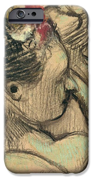 Dancers iPhone Case by Edgar Degas