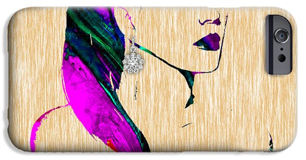 Home iPhone Cases - Katy Perry Collection iPhone Case by Marvin Blaine