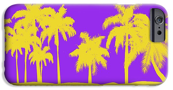 Kobe iPhone Cases - Los Angeles Lakers iPhone Case by Joe Hamilton