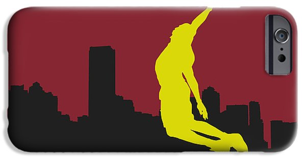 Miami Heat iPhone Cases - Miami Heat iPhone Case by Joe Hamilton