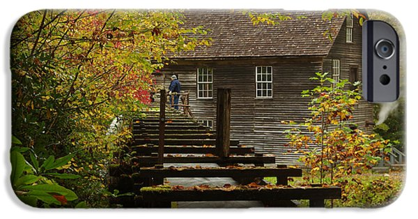 Grist Mill iPhone Cases - Mingus Mill  iPhone Case by Jerry Mann