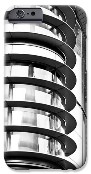 Aluminium iPhone Cases - Modern architecture iPhone Case by Tom Gowanlock