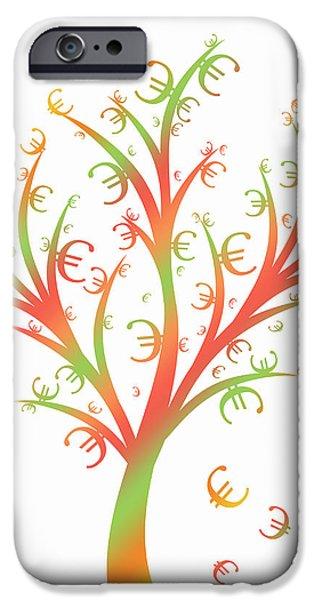 Money Tree iPhone Case by IB Photo
