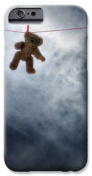 Stuffed Animal iPhone Cases - Teddy Bear iPhone Case by Joana Kruse