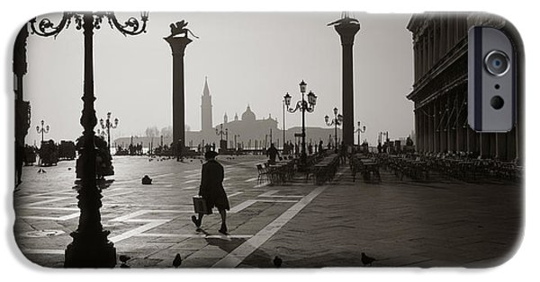 Daybreak iPhone Cases - Venice Italy iPhone Case by Panoramic Images