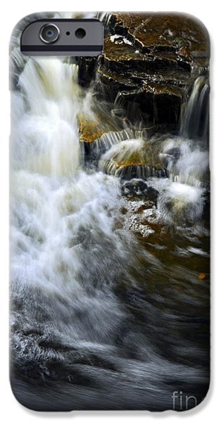 Creek iPhone Cases - Waterfall iPhone Case by Elena Elisseeva