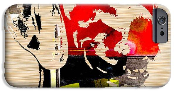 Weimaraner iPhone Cases - Weimaraner iPhone Case by Marvin Blaine
