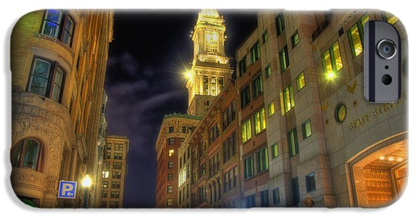 Scenic Boston iPhone Cases - 75 State Street - Boston iPhone Case by Joann Vitali