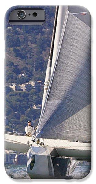 San Francisco sailing iPhone Case by Steven Lapkin