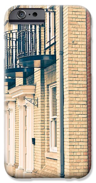 Balcony iPhone Cases - Balconies iPhone Case by Tom Gowanlock