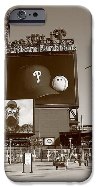 Citizens Bank Park - Philadelphia Phillies iPhone Case by Frank Romeo