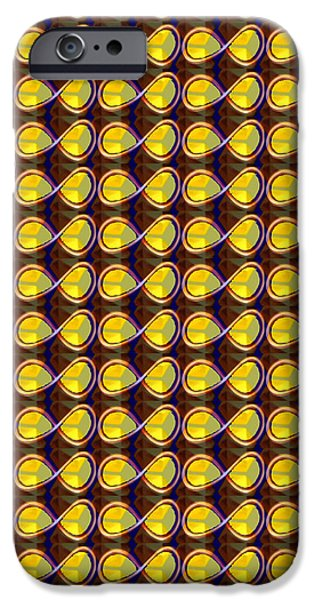 DIY Template Jewels Diamonds Pattern Graphic Sparkle multipurpose art iPhone Case by NAVIN JOSHI