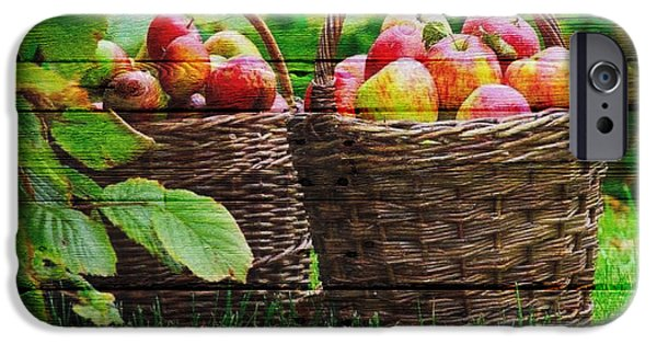 Pears iPhone Cases - Fruit iPhone Case by Joe Hamilton