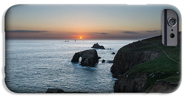 Stargazing iPhone Cases - Lands End iPhone Case by Ollie Taylor