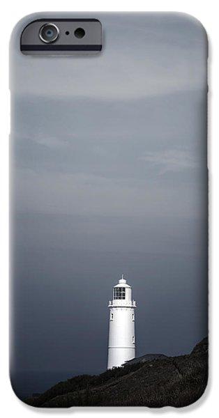 Creepy iPhone Cases - Lighthouse iPhone Case by Joana Kruse