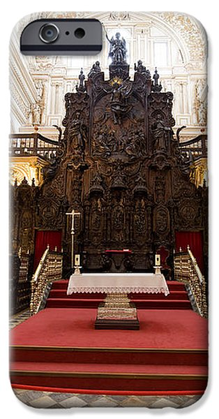 Mezquita Cathedral Interior in Cordoba iPhone Case by Artur Bogacki