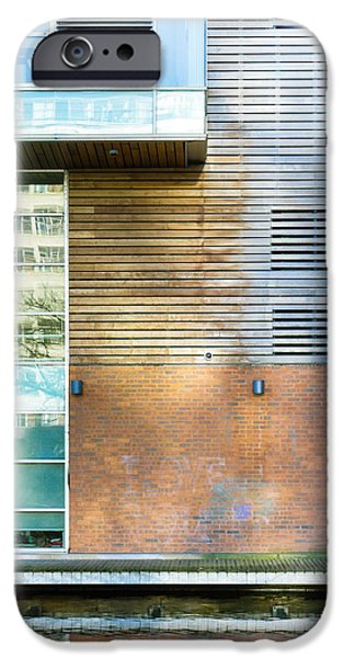 Ledge Photographs iPhone Cases - Modern building iPhone Case by Tom Gowanlock
