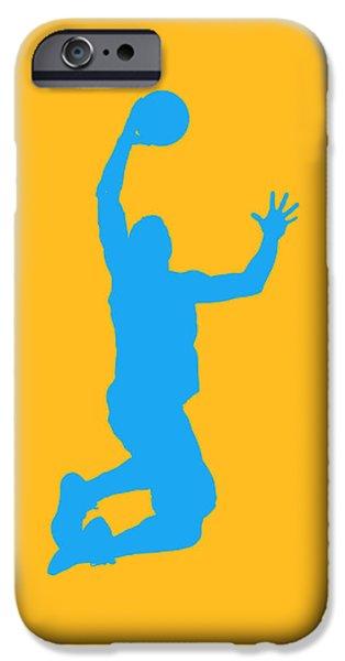 Nba Photographs iPhone Cases - Nba Shadow Players iPhone Case by Joe Hamilton