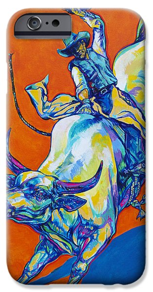 Straps iPhone Cases - 8 Second Insanity iPhone Case by Derrick Higgins