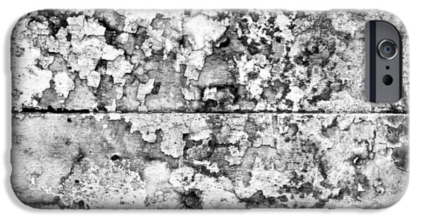 Monotone iPhone Cases - Stone wall iPhone Case by Tom Gowanlock