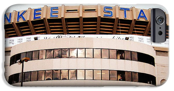 Baseball Stadiums iPhone Cases - The House That Ruth Built iPhone Case by Aurelio Zucco